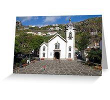 Plaza Greeting Card