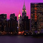 THE UNITED NATIONS AND CHRYSLER BUILDING by KENDALL EUTEMEY
