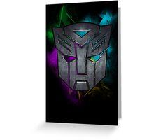 Transformers Autobots Greeting Card