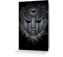 Transformers Autobots Greeting Card