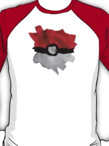Painting Pokeballs T-Shirt