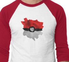 Painting Pokeballs Men's Baseball ¾ T-Shirt