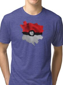 Painting Pokeballs Tri-blend T-Shirt
