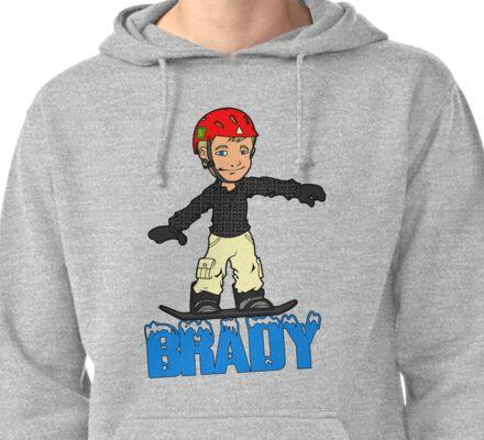 Brady Pullover Hoodie