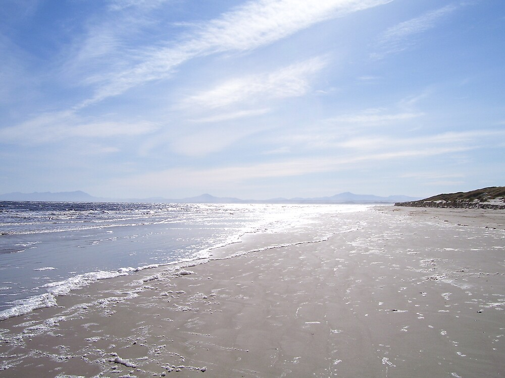 Ocean Beach, at Strahan, Tasmania by gaylene