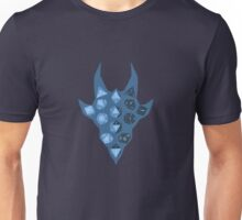 Dice Dragon - Blue Unisex T-Shirt