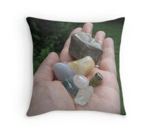 Mineral Rites Throw Pillow