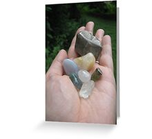 Mineral Rites Greeting Card