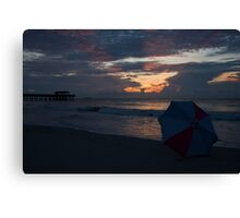 Waiting For The Sun Canvas Print
