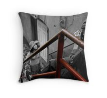The Pose Throw Pillow
