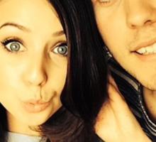Alfie and Zoe Sticker
