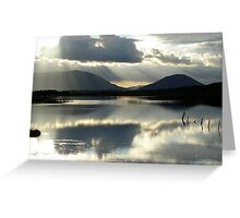 SUNSHINE....AT LAST THE RAIN HAS STOPPED! Greeting Card