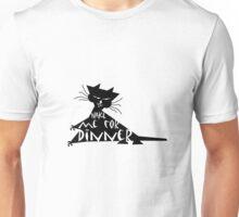 Wake me up cat Unisex T-Shirt