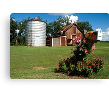 Flower Mail Canvas Print
