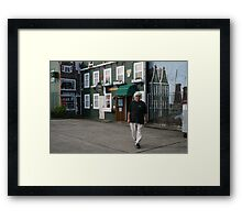 I'm a little Dutch Boy, short and stout. Here is.... Framed Print