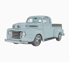 1950 Ford F1 Pickup One Piece - Short Sleeve