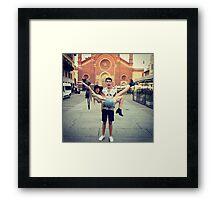Zalfie.  Framed Print