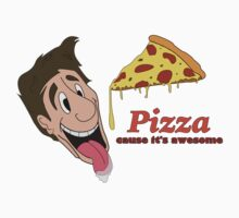 Pizza - cause it's awesome One Piece - Short Sleeve