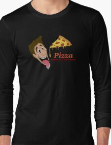 Pizza - cause it's awesome Long Sleeve T-Shirt
