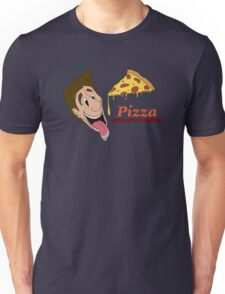 Pizza - cause it's awesome Unisex T-Shirt