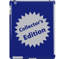 Collector's Edition iPad Case/Skin