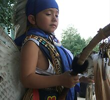 Young Native Traditional Dancer by jamiewinter