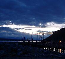 Evening Dock by Angeleah Hoeppner