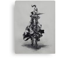 Sir Knight Canvas Print
