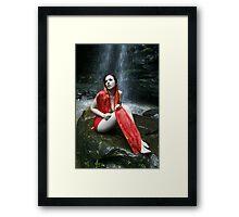 Gaea Scrying Framed Print