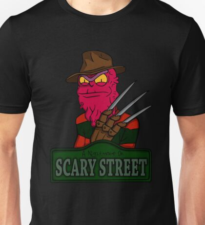 A Nightmare On Scary Street Unisex T-Shirt