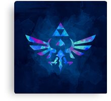 Skyward Sword Paint Blue Canvas Print