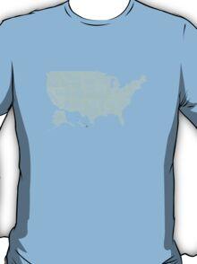 USA state slogans T-Shirt