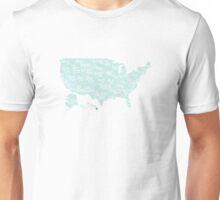USA state slogans Unisex T-Shirt