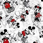 Vintage Minnie & Mickey by iheartcory