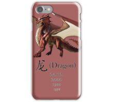 Dragon - Chinese Zodiac sign iPhone Case/Skin
