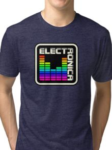 Electronica Colorful Meter Tri-blend T-Shirt