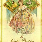 Lady Betty Silk Hosier box from 1920 by cherie hanson