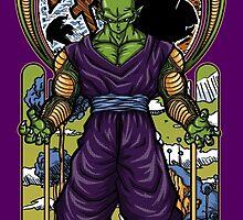 Namekian Warrior by CoDdesigns