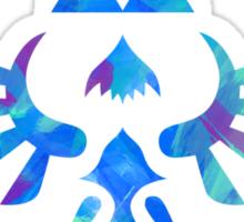 Skyward Sword Paint Blue Sticker