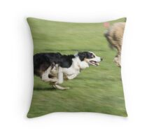 Working Dog Throw Pillow