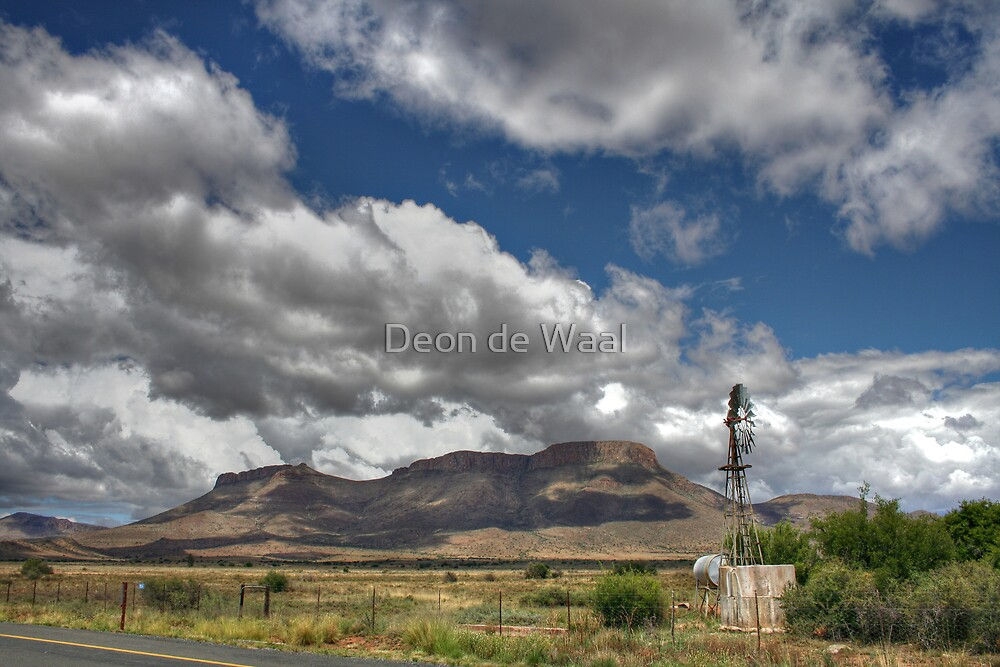 Drought Busters by Deon de Waal