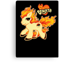My Little Ponyta Canvas Print