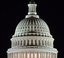 Capital Building at Night IV by shadow2