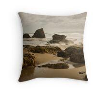 River Rocks, Aireys Inlet Throw Pillow