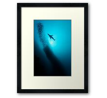 Hunter And Chased Framed Print