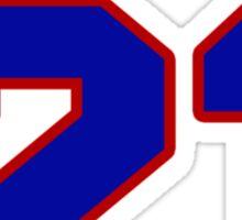 Basketball player Jimmy Butler jersey 21 Sticker