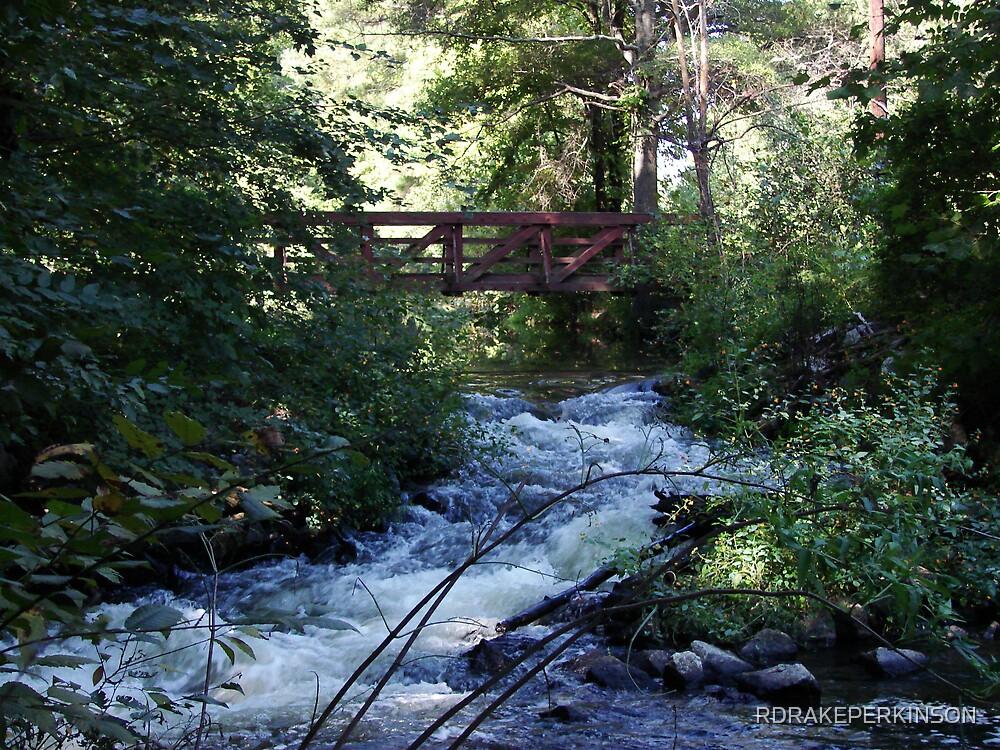 BRIDGE OVER RUNNING WATERS by RDRAKEPERKINSON