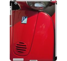 Red Scooter iPad Case/Skin