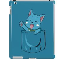t-shirt Happy pocket t-shirt Fairy tail t-shirt Happy t-shirt pocket iPad Case/Skin