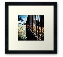 All Mimsy Were The Borogroves Framed Print